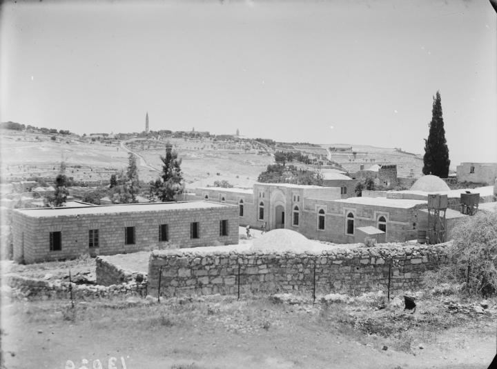A view of hospice,  probably during the early 1950s